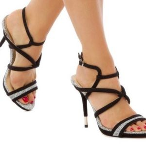 GX by Gwen Stefani Ume Strap Heel Sandals, Sz 10